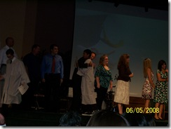 Josh Graduating